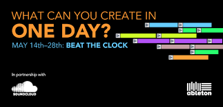 Support Crystaline on Ableton beat the clock competition