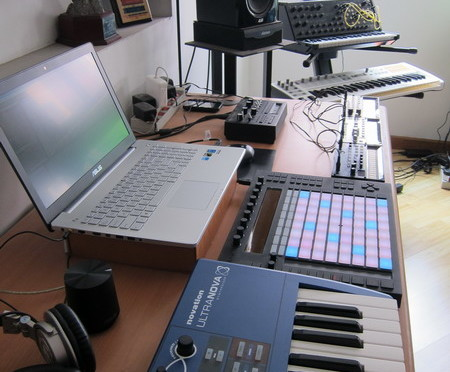 Setup di Base Camp AbletonIndo