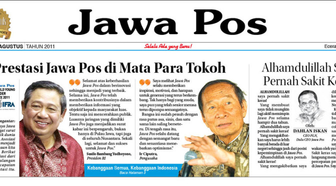 Award Night di Jawa Pos