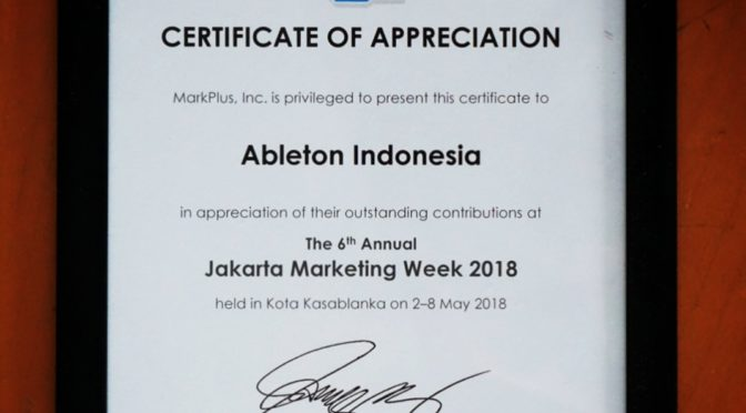 Jakarta Marketing Week 2018
