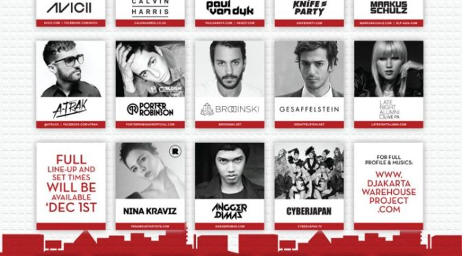 Djakarta Warehouse Project: The Game!