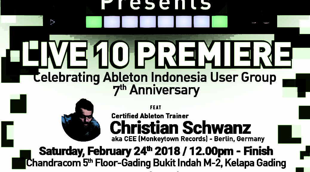 Ableton Indonesia User Group | Official Ableton Indonesia User Group
